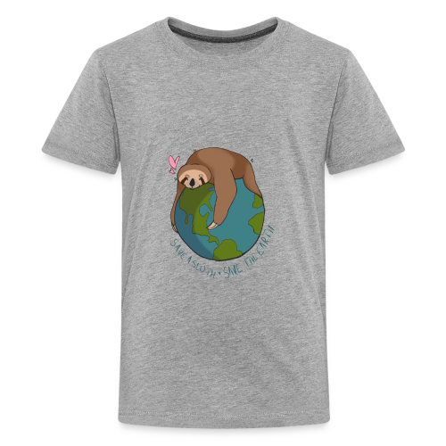 Save a Sloth, Save the Earth - Kids' Premium T-Shirt
