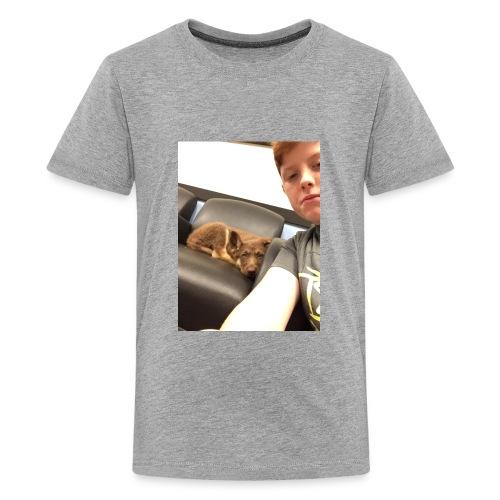 Kimber the puppy - Kids' Premium T-Shirt