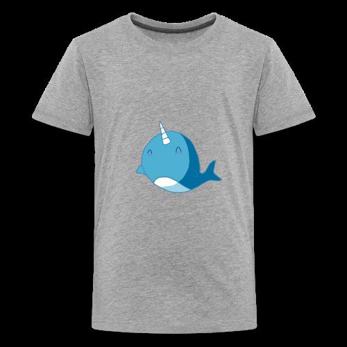 The Diamond Narwhal - Kids' Premium T-Shirt