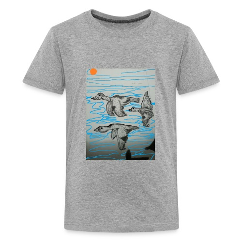 Birds in Formation - Kids' Premium T-Shirt