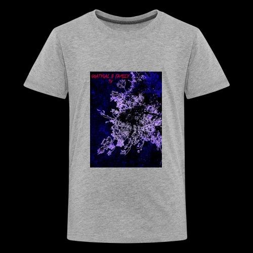 GOATYGAL & FAMILY TV - Kids' Premium T-Shirt