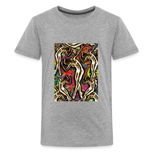 Woman In The Machine Frieze Color 1 - Kids' Premium T-Shirt