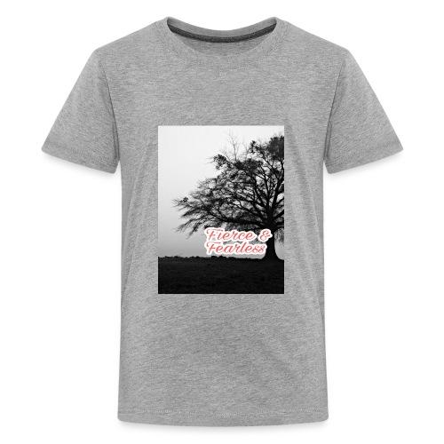 Fierce and Fearless - Kids' Premium T-Shirt