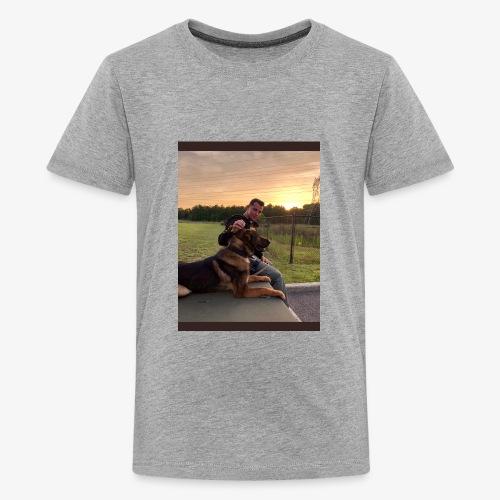 Mark Pini K9 Yogi - Kids' Premium T-Shirt