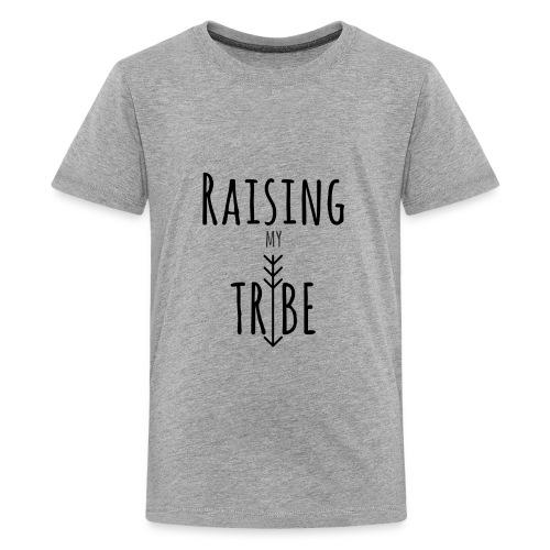 Raising My Tribe Dark - Kids' Premium T-Shirt