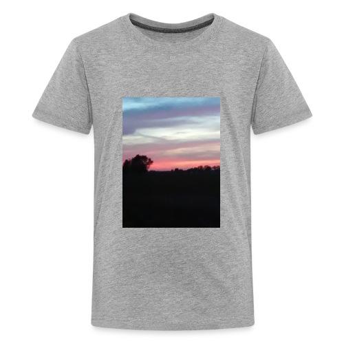 Country sunset - Kids' Premium T-Shirt