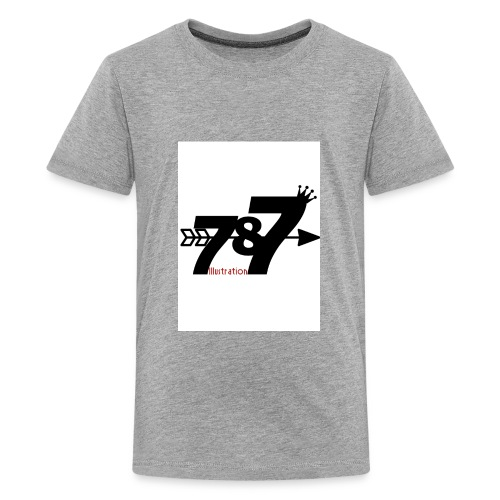 787 illustration - Kids' Premium T-Shirt