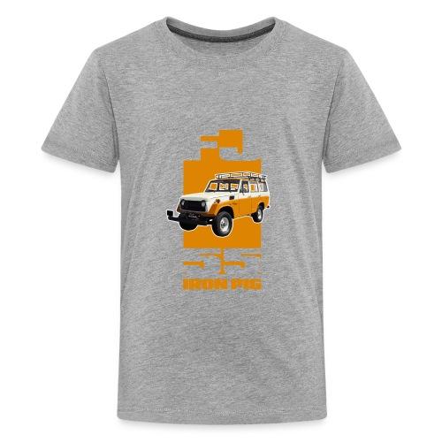 YELLOW FJ55 IRON PIG - Kids' Premium T-Shirt