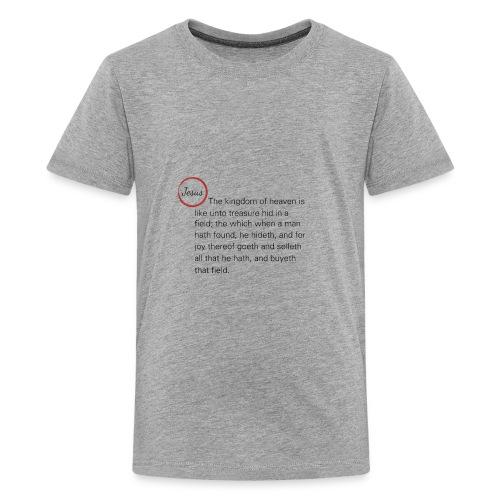 Matthew 13:44 - Kids' Premium T-Shirt