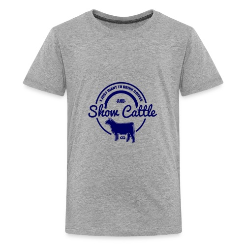 show cattle - Kids' Premium T-Shirt