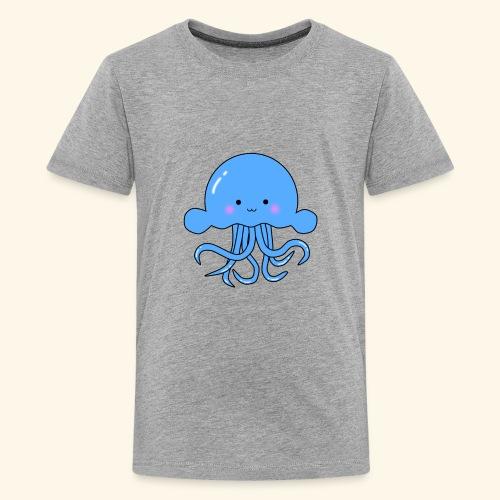 Cute squid - Kids' Premium T-Shirt
