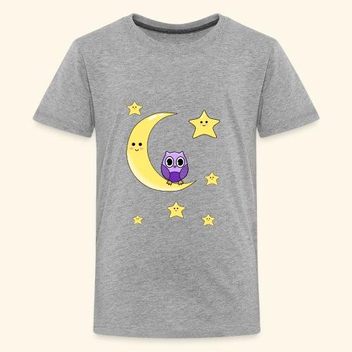 cute owl - Kids' Premium T-Shirt