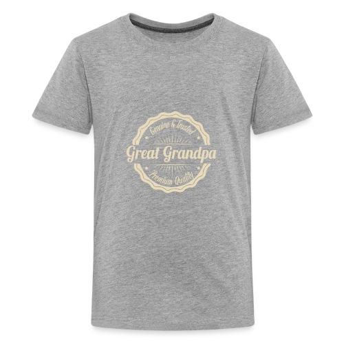 Grandfather Great Grandpa Genuine and Trusted - Kids' Premium T-Shirt