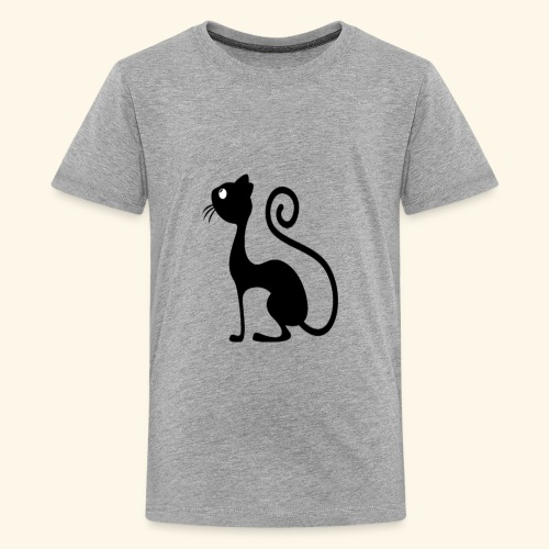 Cute Cat -Funny T-shirt - Kids' Premium T-Shirt