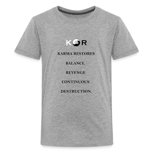 Balance & Destruction - Kids' Premium T-Shirt