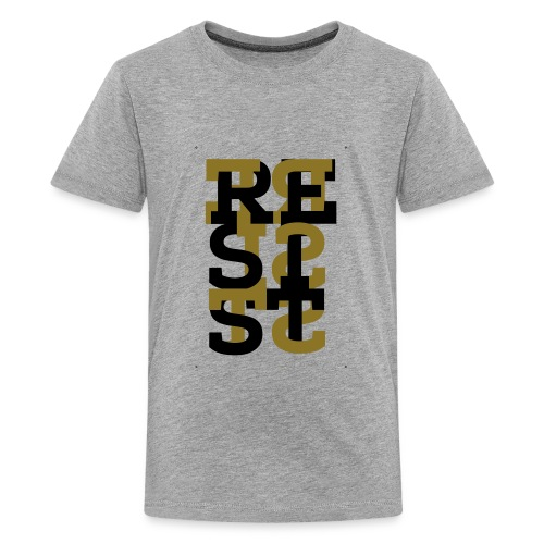 Resist - Gold - Kids' Premium T-Shirt