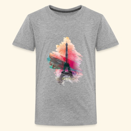 Eiffel tower - Kids' Premium T-Shirt