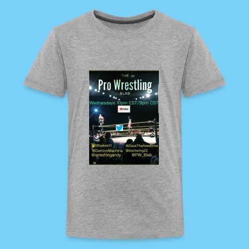 PW_Blab Show grapic - Kids' Premium T-Shirt