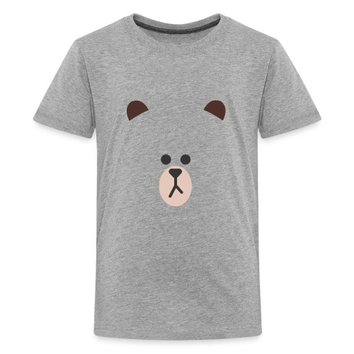 bear line - Kids' Premium T-Shirt