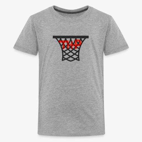 Hoop logo - Kids' Premium T-Shirt