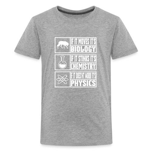 Funny Sciences Meme Shirt - Kids' Premium T-Shirt