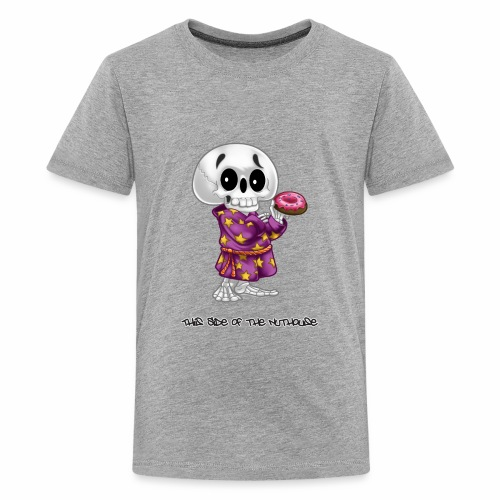 Lichs Love Donuts - This Side of the Nuthouse - Kids' Premium T-Shirt