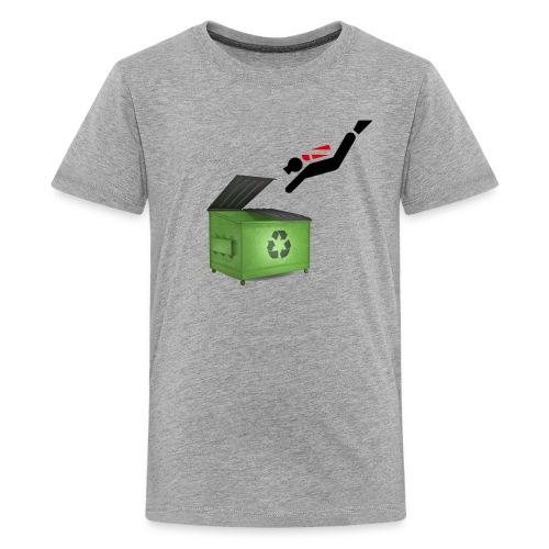 Dumpster Diver Scuba - Kids' Premium T-Shirt