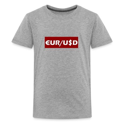 EUR/USD - Kids' Premium T-Shirt