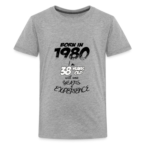 08 born in 1980 38 YEAR 2018 - Kids' Premium T-Shirt
