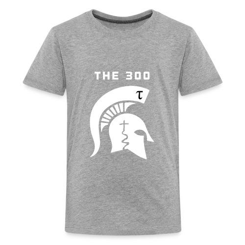 The 300 helmet logo - Kids' Premium T-Shirt