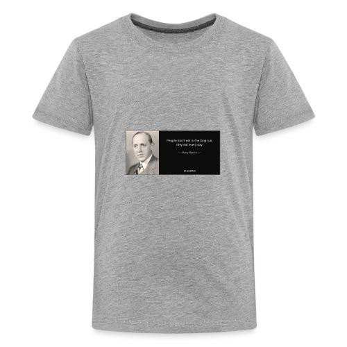 wise quote - Kids' Premium T-Shirt