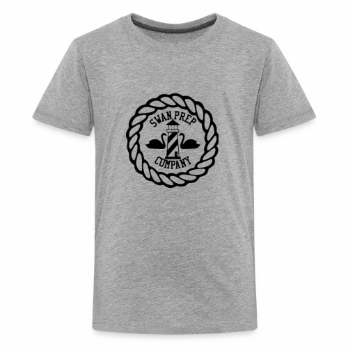 Swan Prep Badge Classic Design - Kids' Premium T-Shirt