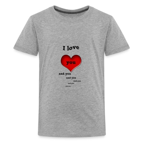 Valentin Love - Kids' Premium T-Shirt