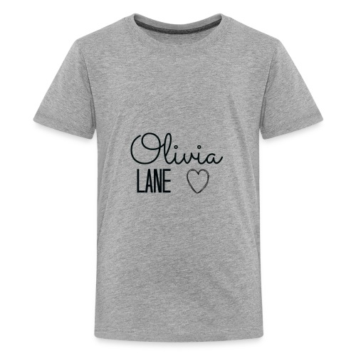 Olivia Lane Heart - Kids' Premium T-Shirt