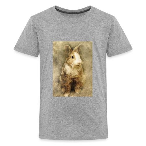 Rabbit portrait 1 - Kids' Premium T-Shirt
