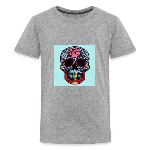 creative skull - Kids' Premium T-Shirt