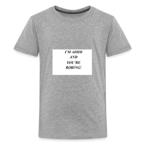 ADHD t shirts - Kids' Premium T-Shirt