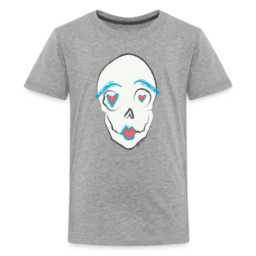 Kissing skull - Kids' Premium T-Shirt