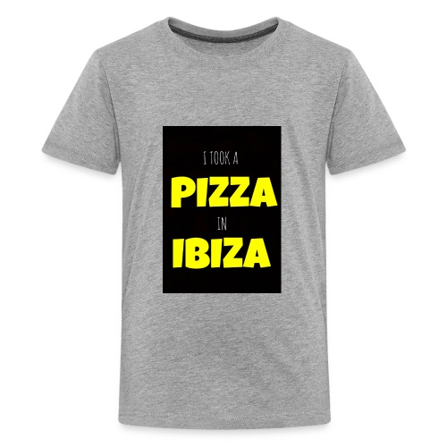 I took a Pizza in Ibiza - Kids' Premium T-Shirt