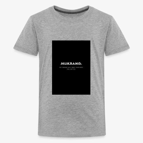say no to mukbang - Kids' Premium T-Shirt