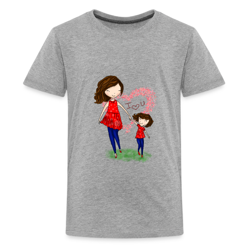 To show love between mother and daughter - Kids' Premium T-Shirt