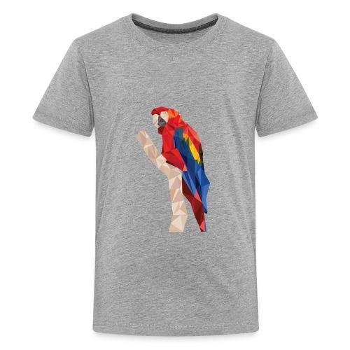 parrot poly low - Kids' Premium T-Shirt