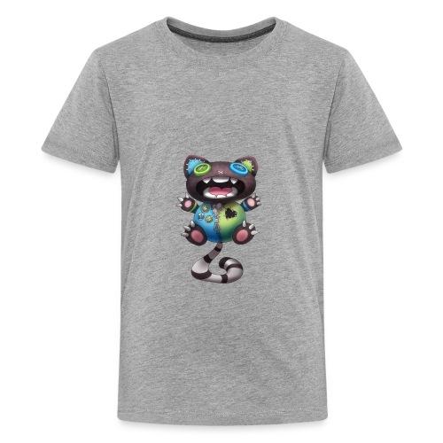 Clover Cats - Grey toy cat - Kids' Premium T-Shirt