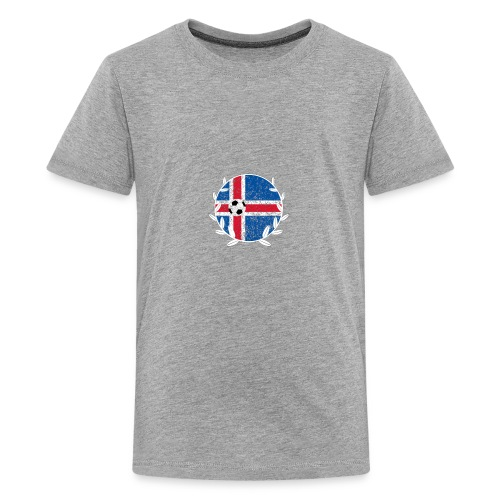 Iceland Football logo - Kids' Premium T-Shirt