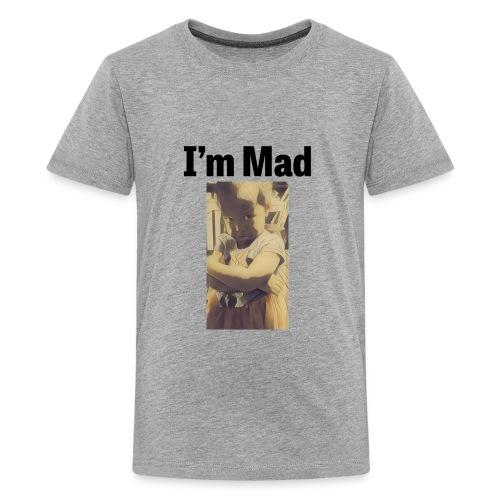 design 302536820 13610293 christen olivia sadface - Kids' Premium T-Shirt
