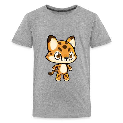 Cheetah Idle - Kids' Premium T-Shirt