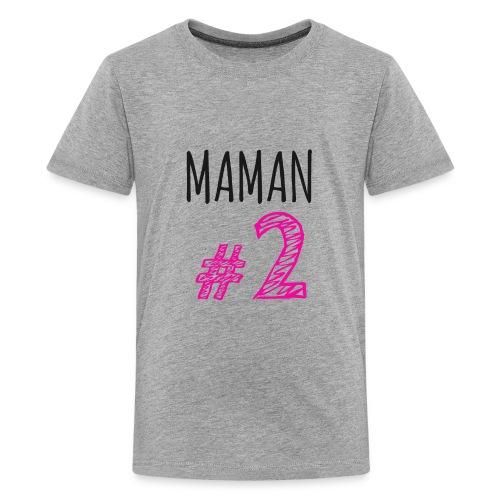 MAMAN # 2 - T-shirt premium pour ados