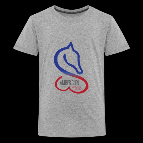 AMBER GLEN FULL LOGO 01 - Kids' Premium T-Shirt