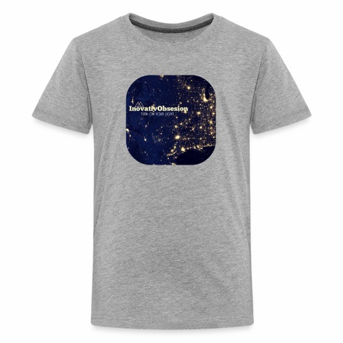 "InovativObsesion ""TURN ON YOU LIGHT"" Apparel - Kids' Premium T-Shirt"
