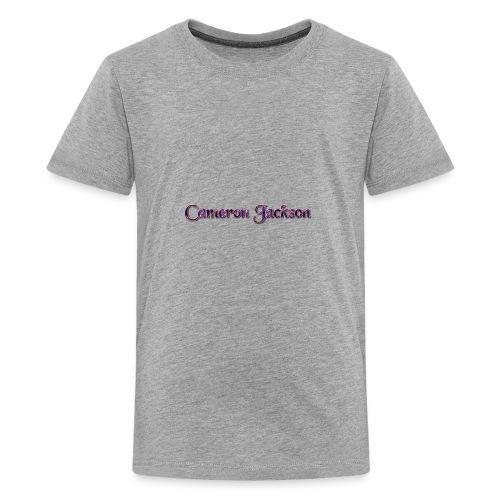 Cameron Jackson Lightning Logo - Kids' Premium T-Shirt